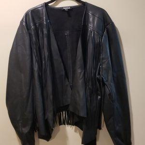 Torrid Faux Leather Jacket-Size 3X